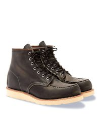 Red Wing - Black Red Wing Heritage 9075 6-inch Classic Moc Toe Boot for Men - Lyst