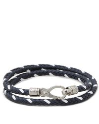 Tod's - Blue Mycolors Bracelet In Leather for Men - Lyst