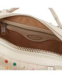 Tod's - White Gommino Bag Mini - Lyst