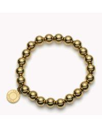 Tommy Hilfiger | Yellow Bead Bracelet | Lyst