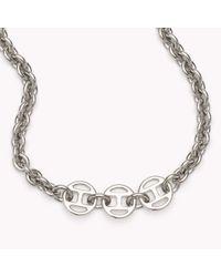 Tommy Hilfiger | Metallic Signature Necklace | Lyst