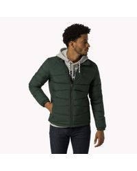 Tommy Hilfiger | Green Down Quilted Jacket for Men | Lyst