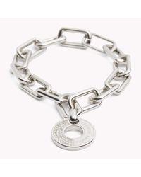 Tommy Hilfiger | Metallic Chunky Link Bracelet | Lyst