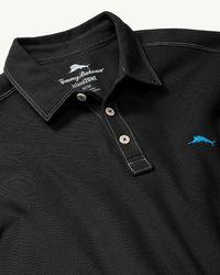 Tommy Bahama - Black Tropicool Islandzone® Piqué Polo for Men - Lyst
