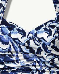 Tommy Bahama - Blue Islandsculpttm Island Pansy One-piece Swimsuit - Lyst