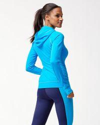 Tommy Bahama - Blue Islandactive® Pullover Hooded Rash Guard - Lyst