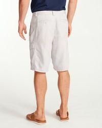 Tommy Bahama - Gray Key Grip 9.5-inch Cargo Shorts for Men - Lyst