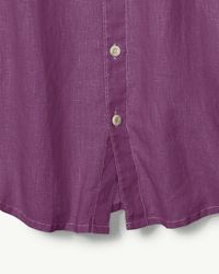 Tommy Bahama - Purple Sea Glass Breezer Linen Camp Shirt for Men - Lyst