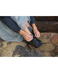 TOMS - Black Waterproof Leather Women's Summit Boots - Lyst