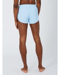 Topman   Simple Clothing Blue Sprinter Shorts for Men   Lyst