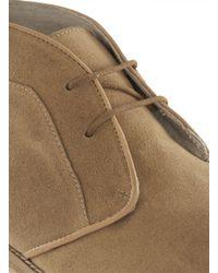 Topman - Brown Tan Suede Chukka Boots for Men - Lyst