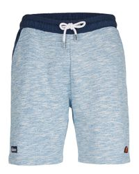Topman | Ellesse Blue Space Dye Track Shorts for Men | Lyst