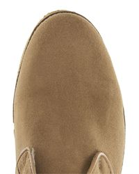 Topman - Brown Tan Suede Chukka Boots for Men - Lyst