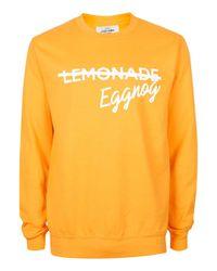 Topman | Metallic The London Knitwear Company Yellow Christmas Jumper* for Men | Lyst
