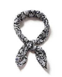 Topman - Black And White Printed Bandana* for Men - Lyst