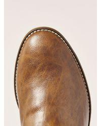 Topman - Brown Tan Pu Chelsea Boot for Men - Lyst