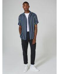 Jaded - Green Stripe Shirt for Men - Lyst