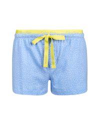 Calvin Klein - Blue Pyjama Shorts By - Lyst