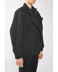 TOPSHOP | Black 2-in-1 Wadded Jacket By Boutique | Lyst
