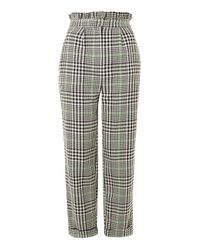 TOPSHOP Multicolor Heritage Check Mensy Trousers