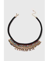 TOPSHOP | Multicolor Beaded Collar | Lyst