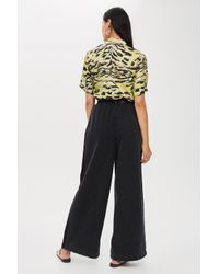 TOPSHOP - Black Wide Leg Jeans By Boutique - Lyst