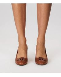 Tory Burch - Black Miller Wedge, Leather - Lyst