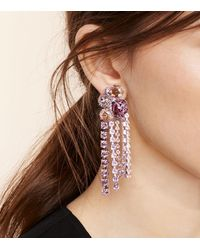 Tory Burch - Multicolor Stone Cascade Earring - Lyst