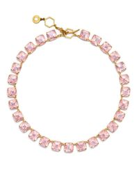 Tory Burch | Pink Stone Short Necklace | Lyst