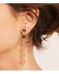 Tory Burch | Metallic Gemini Link Linear Earring | Lyst