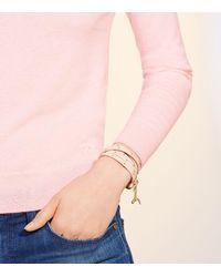 Tory Burch - Red Studded Multi-wrap Bracelet - Lyst