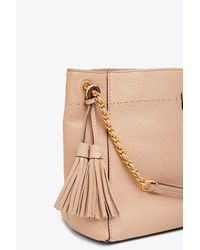 Tory Burch - Natural Mcgraw Chain-shoulder Slouchy Tote - Lyst
