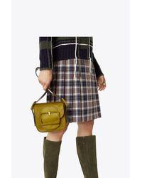 Tory Burch - Multicolor Sawyer Calf Hair Mini Shoulder Bag - Lyst