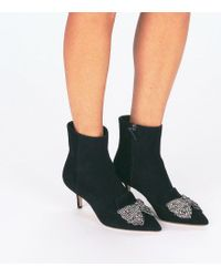 Tory Burch Black Esme Booties