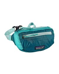 Patagonia - Blue Lightweight Travel Mini Hip Pack 1l - Lyst
