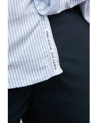 Nanamica - Blue Wind Bd Shirt for Men - Lyst