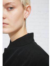 Sophie Buhai - Metallic Small Lobe Earrings - Lyst