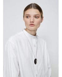 Quarry - White Bele Necklace - Lyst