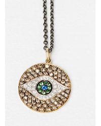 Ileana Makri - Metallic Multi Dawn Pendant Necklace - Lyst