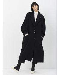 Damir Doma | Black Coal Cooper Coat | Lyst