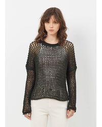 Lauren Manoogian | Pine Black Net Pullover | Lyst