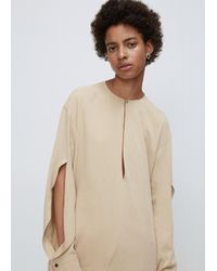 David Michael | Multicolor Taupe Cypress Blouse | Lyst