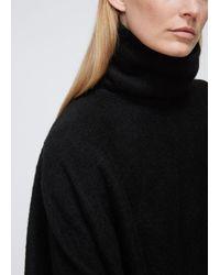 Dusan Black Turtleneck Pullover