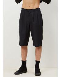 Junya Watanabe | Black Navy Mohair Shorts for Men | Lyst