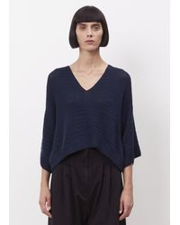 Rachel Comey - Blue Navy Coloma Top - Lyst