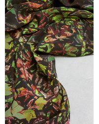 Anntian - Green Print F Silk Scarf Print F - Lyst