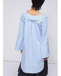 Xiao Li - Blue Long Sleeves Shirt - Lyst