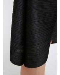 Pleats Please Issey Miyake - Black Cropped Drop Pant - Lyst