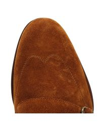 Ted Baker - Brown Mens Tan Suede Rovere Shoes for Men - Lyst
