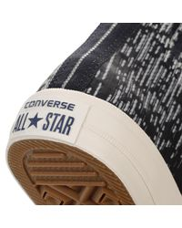 Converse - All Star Chuck Taylor Ii Mens Blue Hi Top Rubber Trainers for Men - Lyst